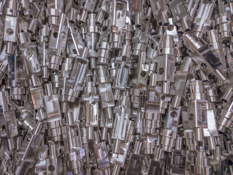 Aluminium rozdziela tło obrazy stock