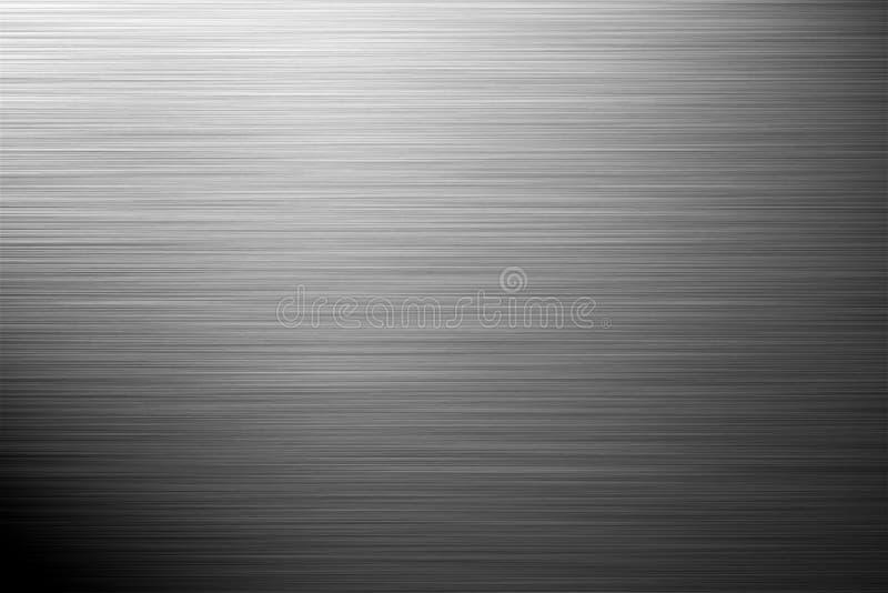Aluminium silver background. Landscape orientation vector illustration