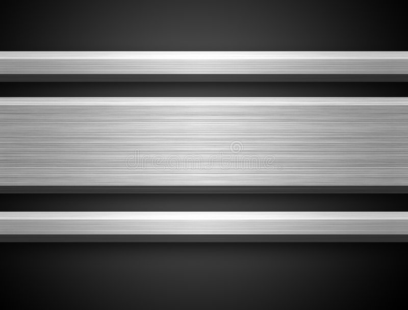 Download Aluminium Silver Bar stock illustration. Image of brushed - 2646223