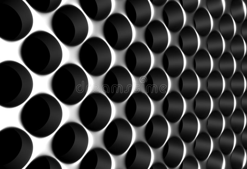 Download Aluminium silver fence stock illustration. Image of metalic - 19122800
