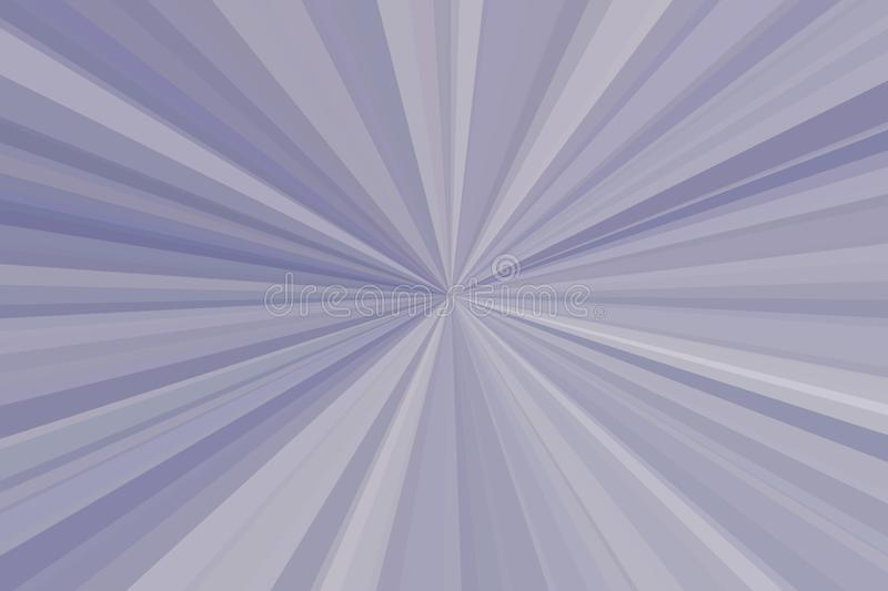 Aluminium silvermetallabstrakt begrepp rays bakgrund Bandstrålmodell Modern trend för stilfull illustration royaltyfri foto