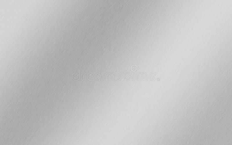 Aluminium, stal, srebro, oczyszczony metalu tła gradient zdjęcia royalty free