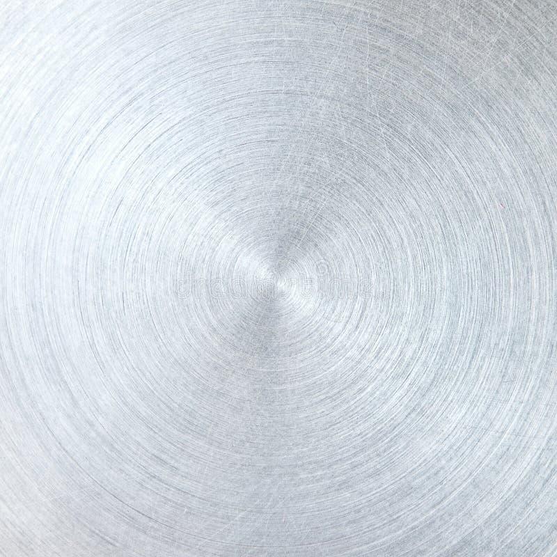 aluminium szczotkująca tekstura zdjęcie royalty free