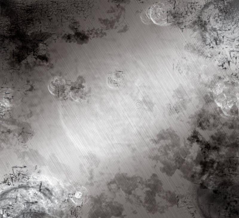 aluminium szczotkujący martwiącym ilustracja wektor