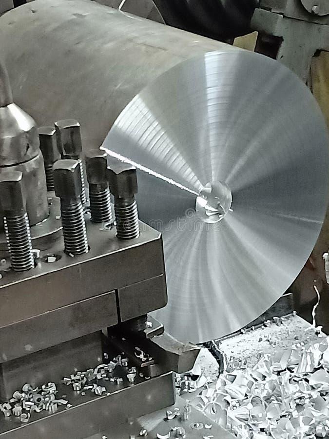 Aluminium vända för sken arkivfoto