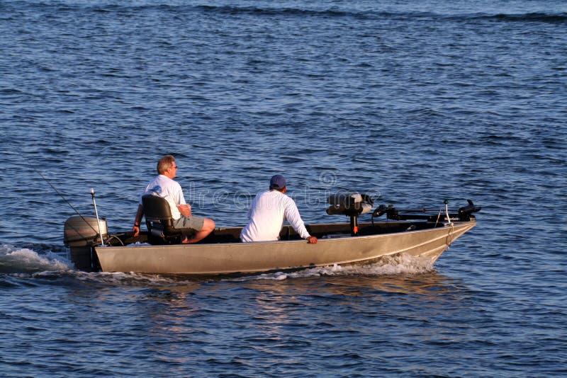 Aluminiumboot lizenzfreies stockbild