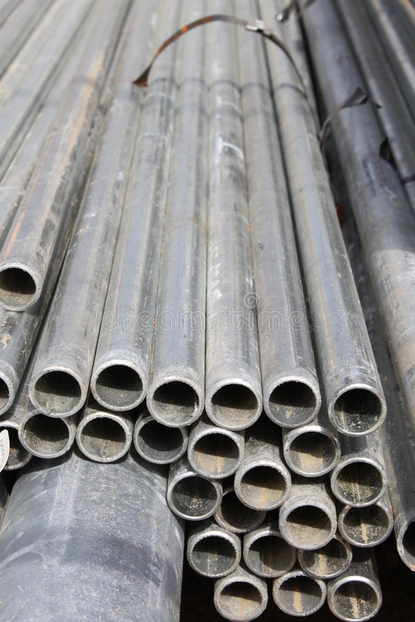 Aluminiumbuizen stock fotografie