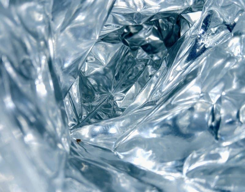 Aluminiumfolie des Tunnels stockbilder