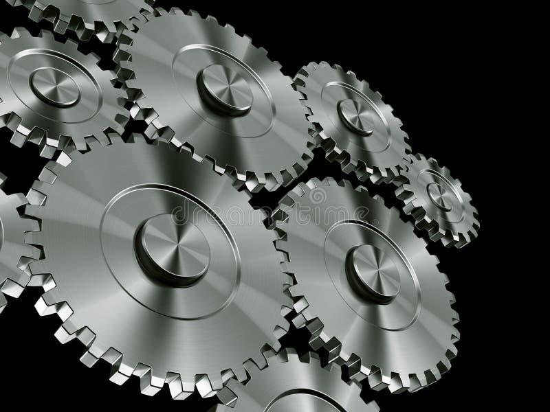 Aluminiumgänge lizenzfreie abbildung