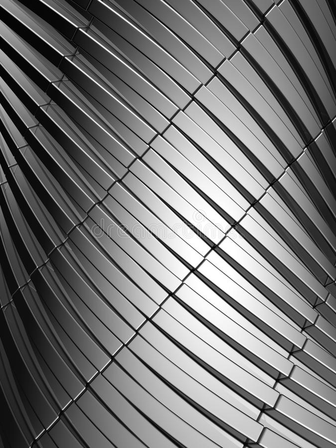 Aluminum abstract silver stripe pattern background stock photos