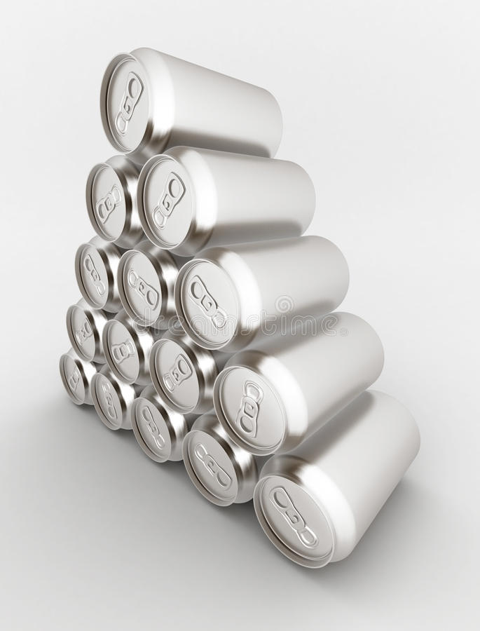 Download Aluminum can stock illustration. Image of branding, empty - 20593472