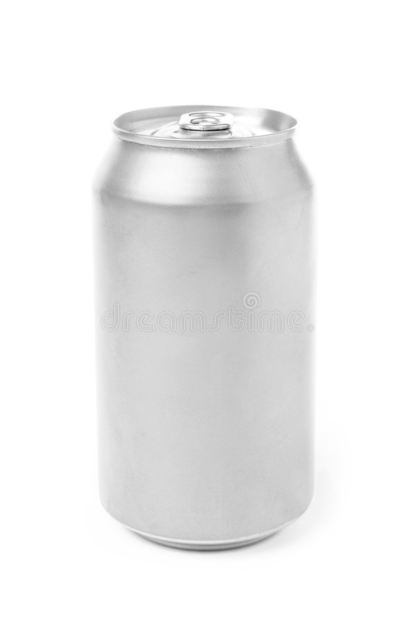 Aluminum can stock images