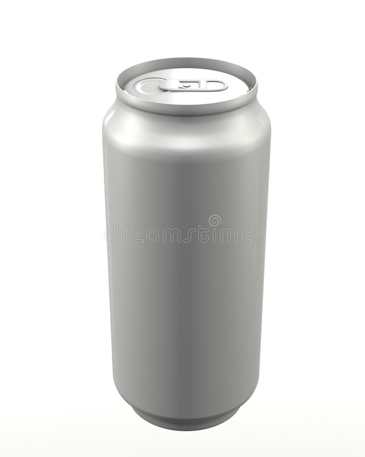 Download Aluminum can closed stock illustration. Image of moisture - 19716617