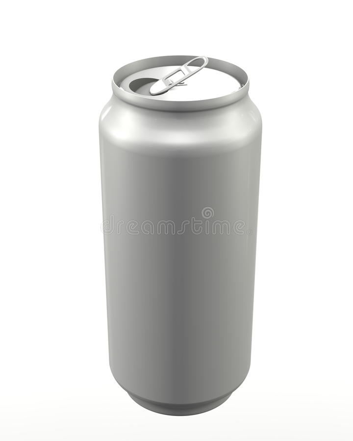 Download Aluminum can oupen stock illustration. Image of oupen - 19727337