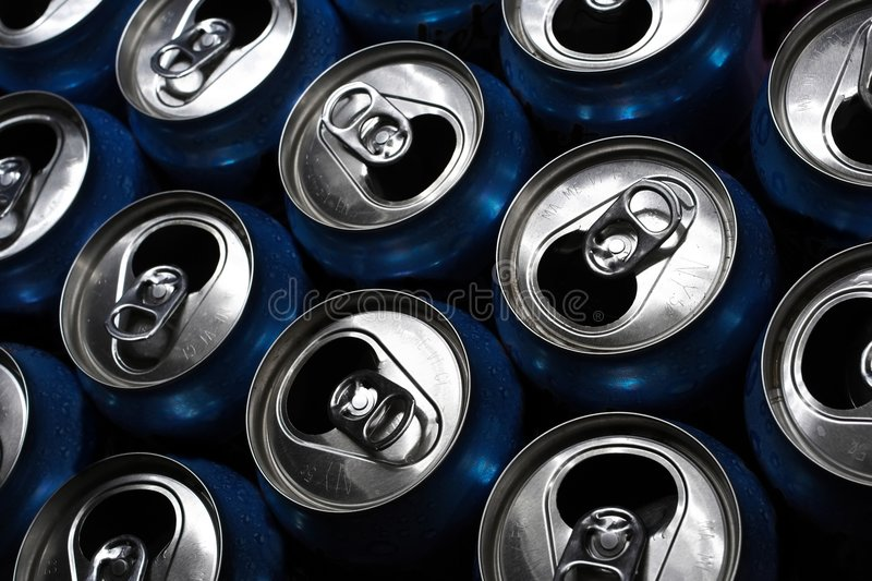 Aluminum Cans royalty free stock image