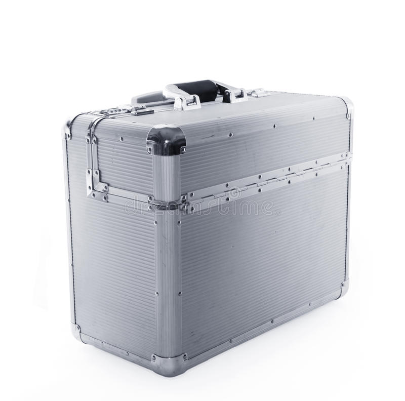 Aluminum case royalty free stock images