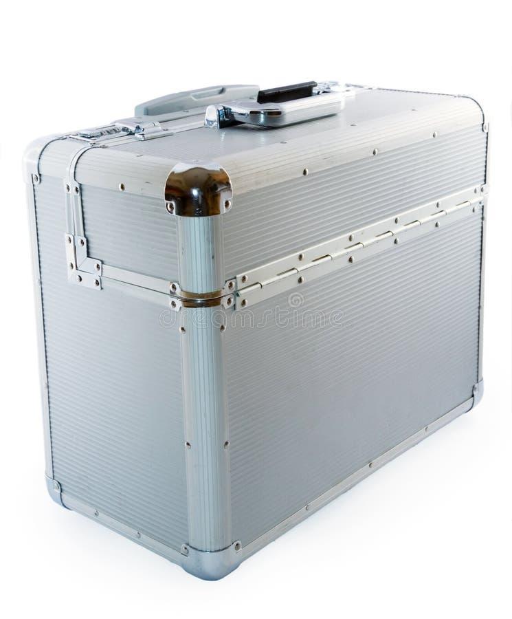 Aluminum case stock photo