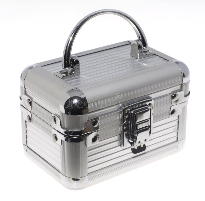 Aluminum case royalty free stock photos