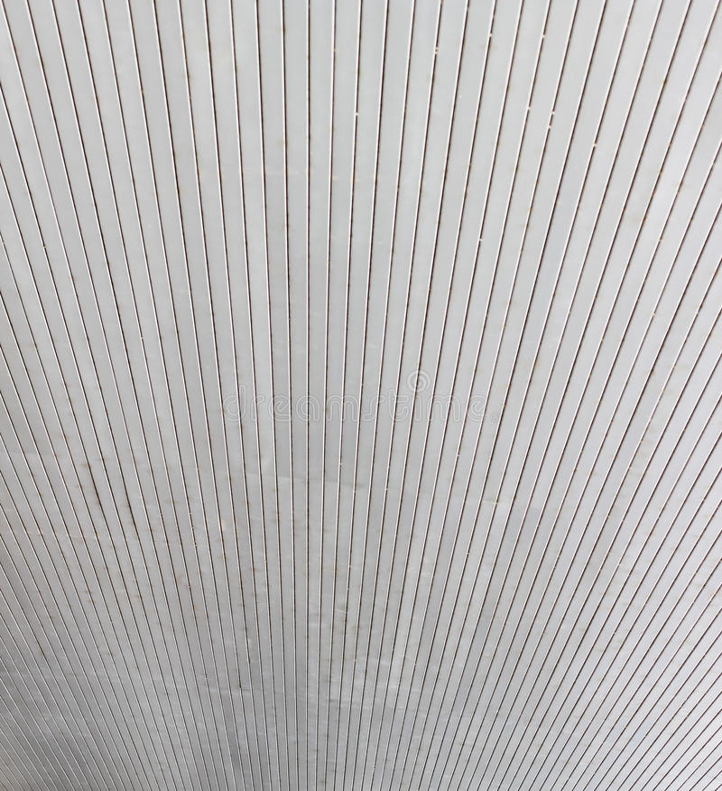 Aluminum ceiling of public building royalty free stock photography