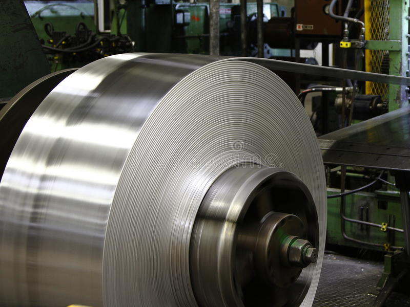 Download Aluminum coil stock photo. Image of aluminum, industry - 23434020