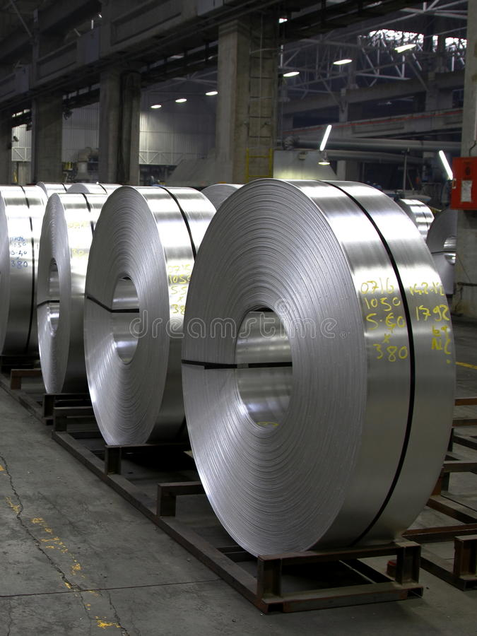 Download Aluminum coils stock image. Image of technology, industry - 23644987