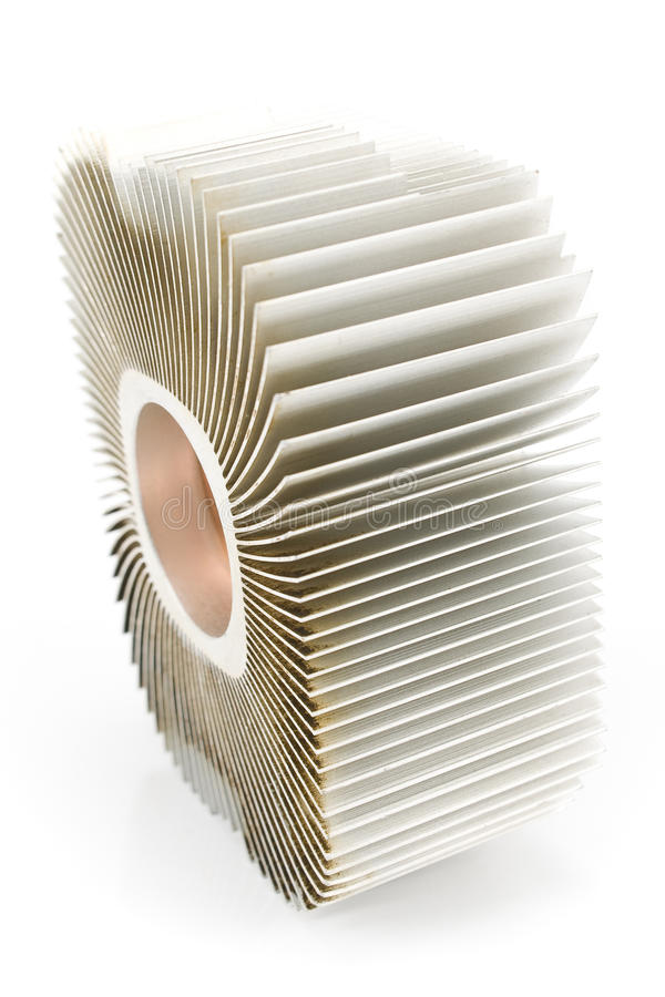 Download Aluminum Cpu Cooler Heat Sink Royalty Free Stock Photography - Image: 24561657