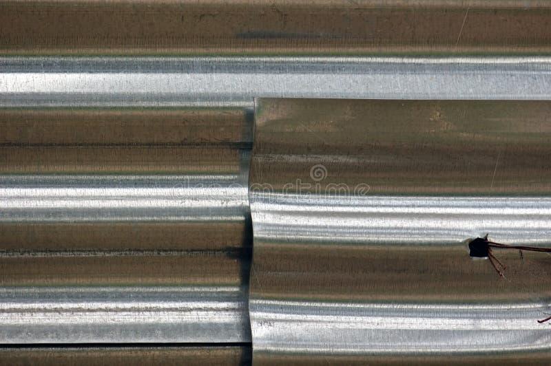 Aluminum fence royalty free stock photos