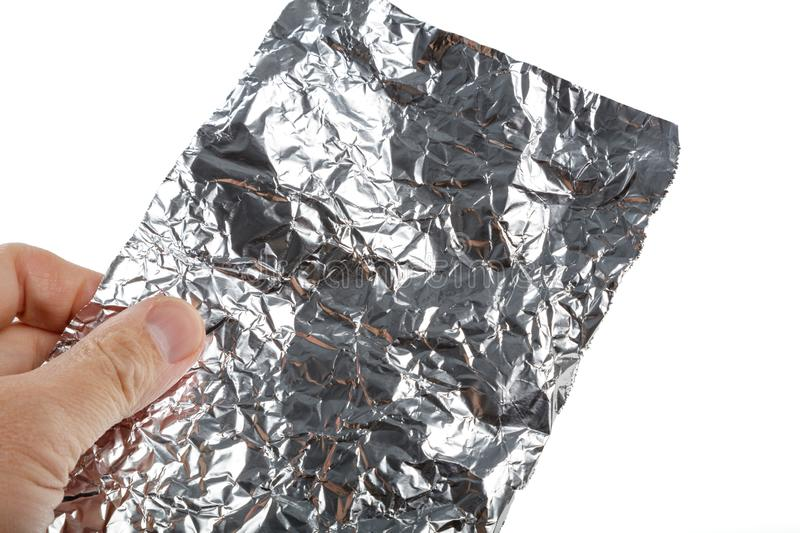Aluminum foil roll stock photos