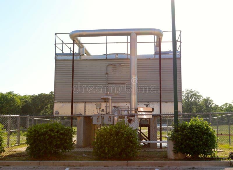 Aluminum kulör diesel - driven generator royaltyfri foto