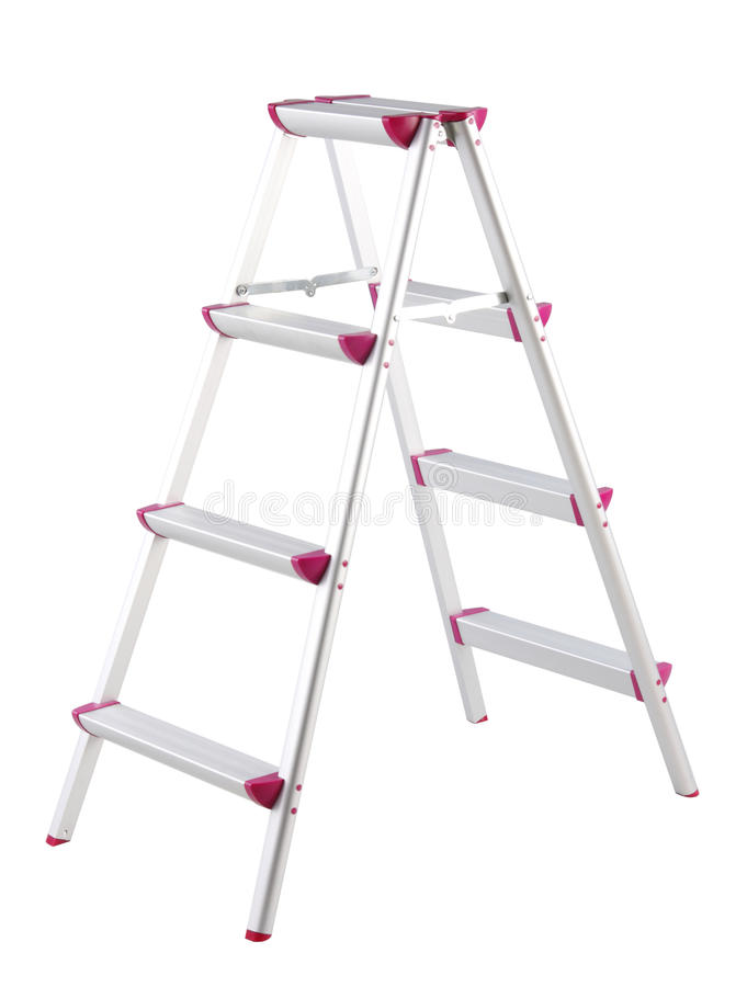 Free Aluminum Ladder Step Stock Photography - 25287082