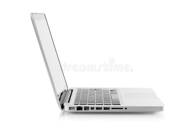 Download Aluminum laptop stock photo. Image of communication, isolated - 13437074