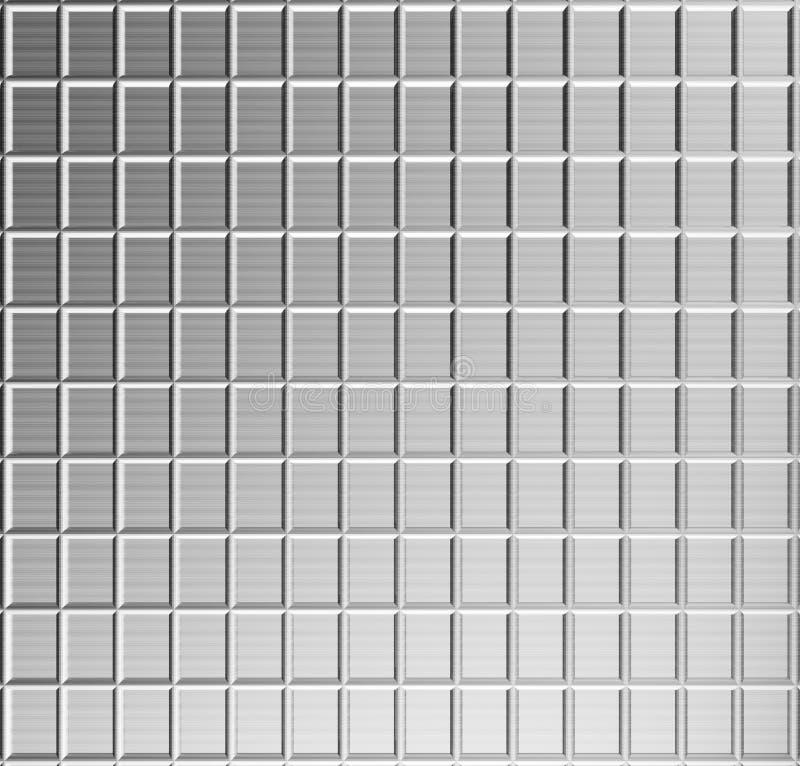 Aluminum pattern background royalty free stock photography
