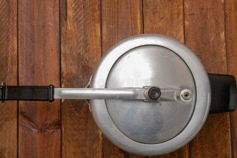 Aluminum pressure cooker stock photos
