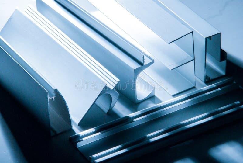 Aluminum Profile For Window, Door Stock Photo - Image of