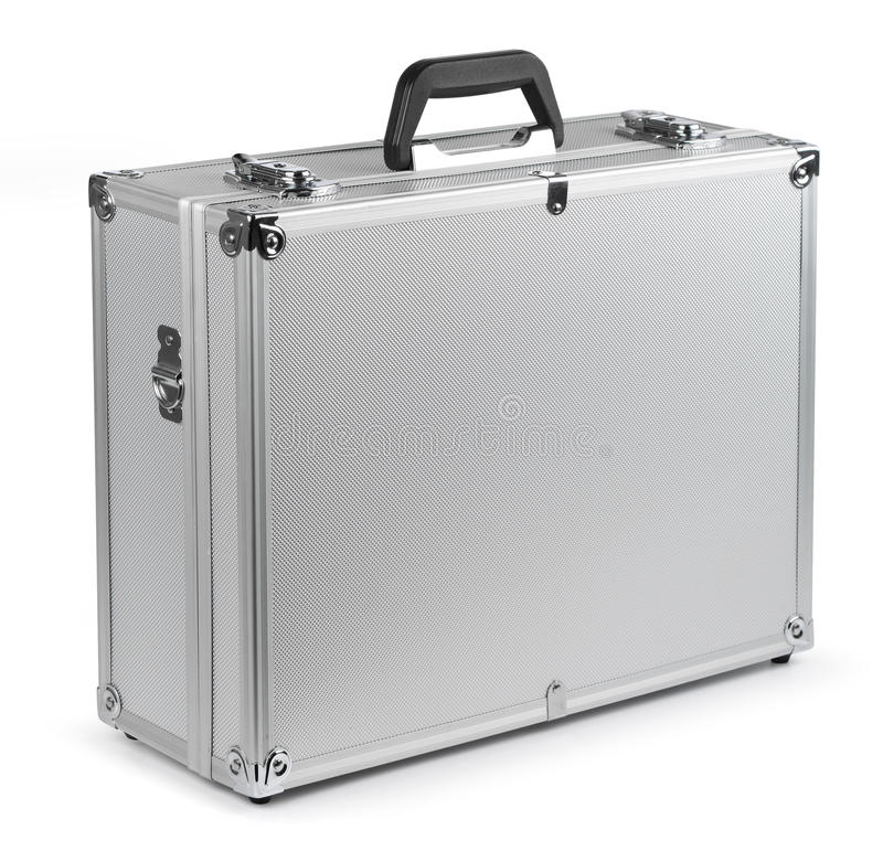 Free Aluminum Safety Briefcase Stock Images - 22534114