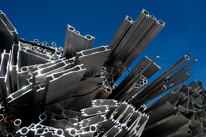 Download Aluminum Scrap For Recycling Stock Photo - Image of energy, waste: 12899136