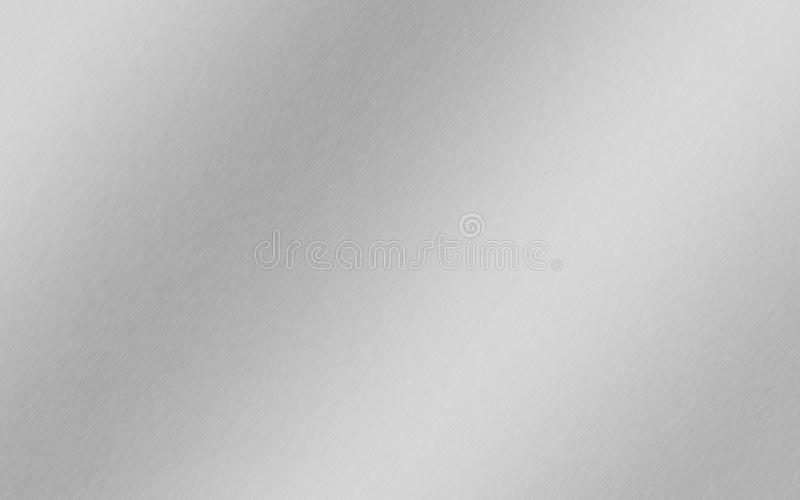 Aluminum, steel, silver, brushed metal Background gradient royalty free stock photos