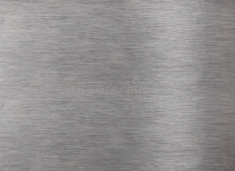 Aluminum surface stock photo