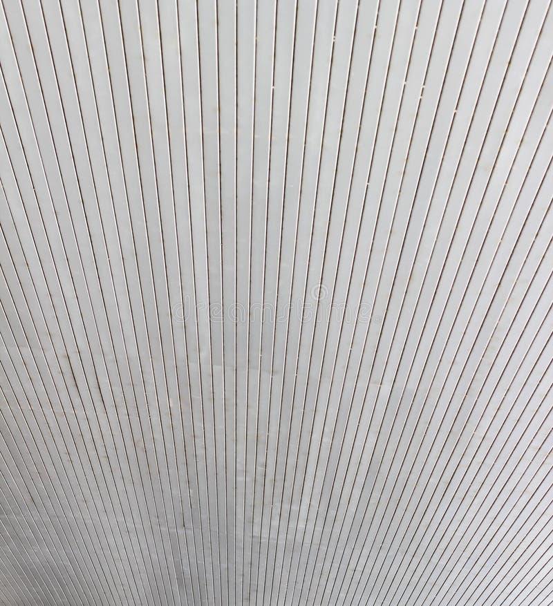 Aluminum tak av offentlig byggnad royaltyfri fotografi