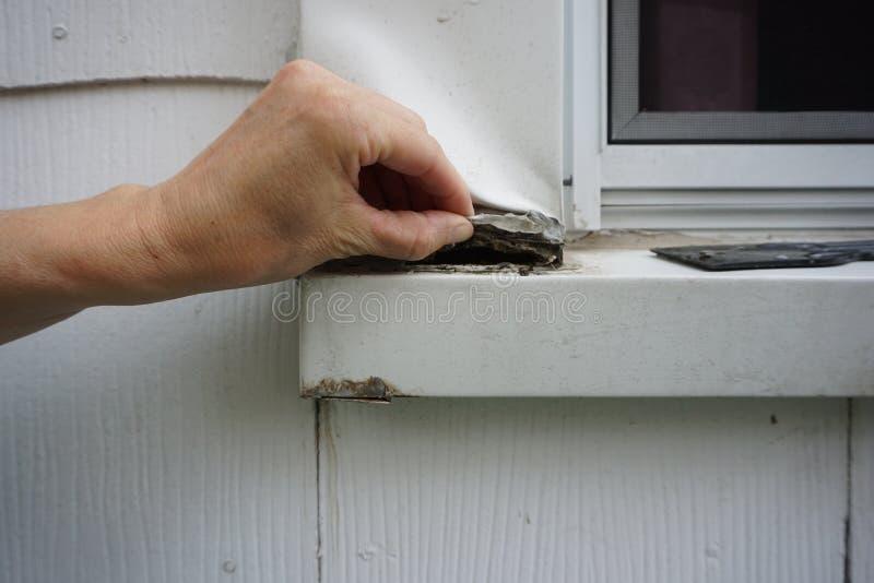 Aluminum window trim repairs do it yourself stock images