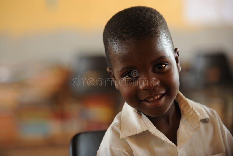 Alunos africanos imagens de stock