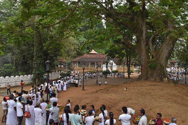 Aluthnuwara Dedimunda Devalaya in Mawanella, Sri Lanka royalty-vrije stock foto's