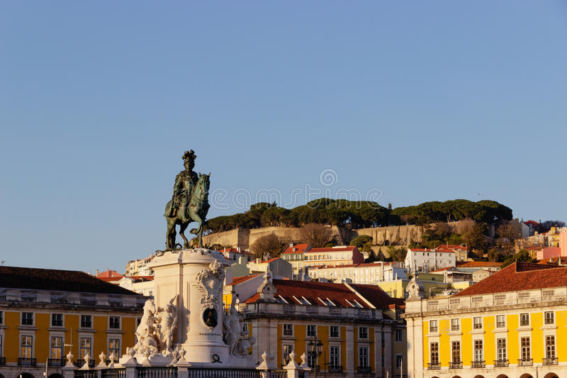 alvares d Nuno pereira statua josephine obrazy royalty free