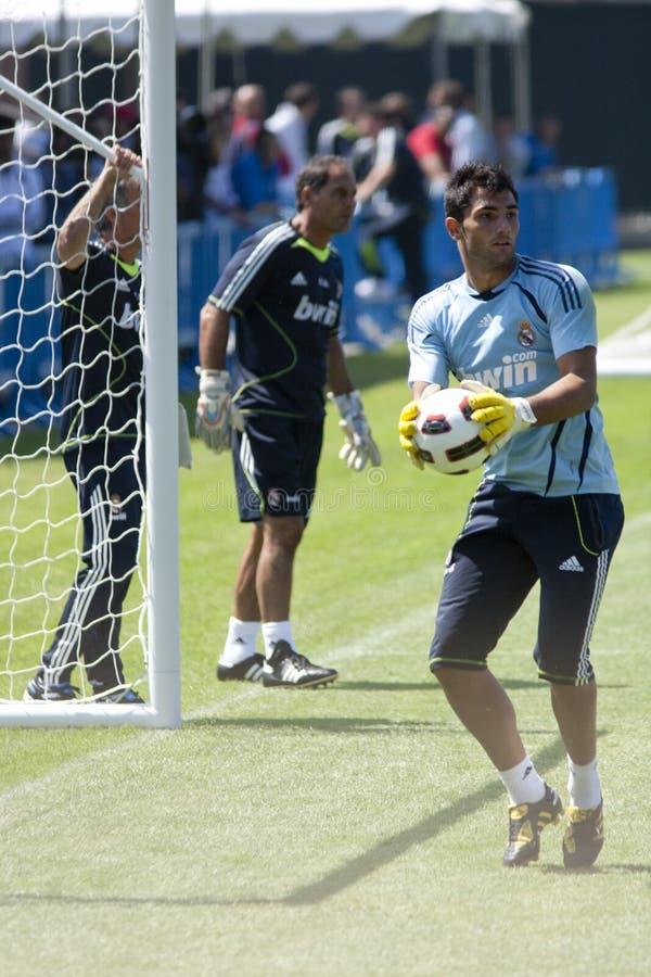 Download Alvaro Arbeloa at Practice editorial photography. Image of football - 15425557