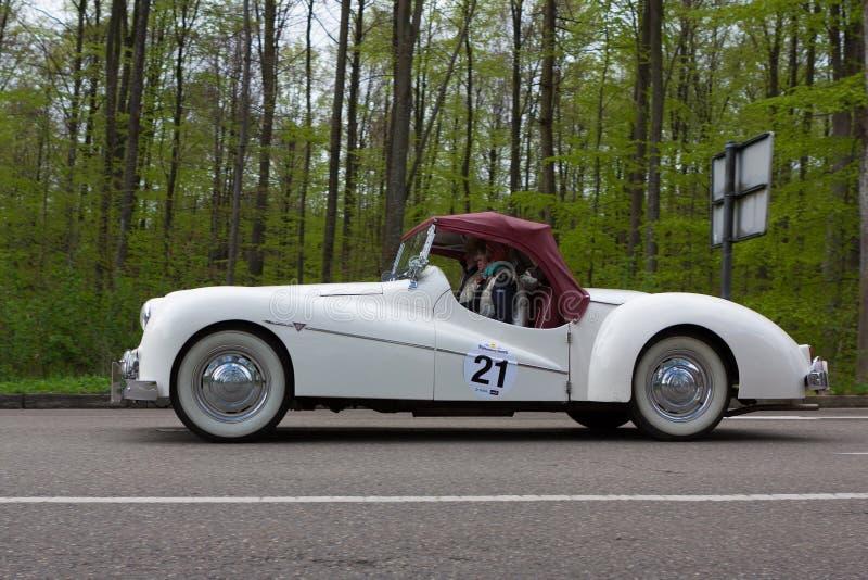 1946 Alvis TB 14 przy ADAC Wurttemberg Historyczny Rallye 2013 obraz royalty free