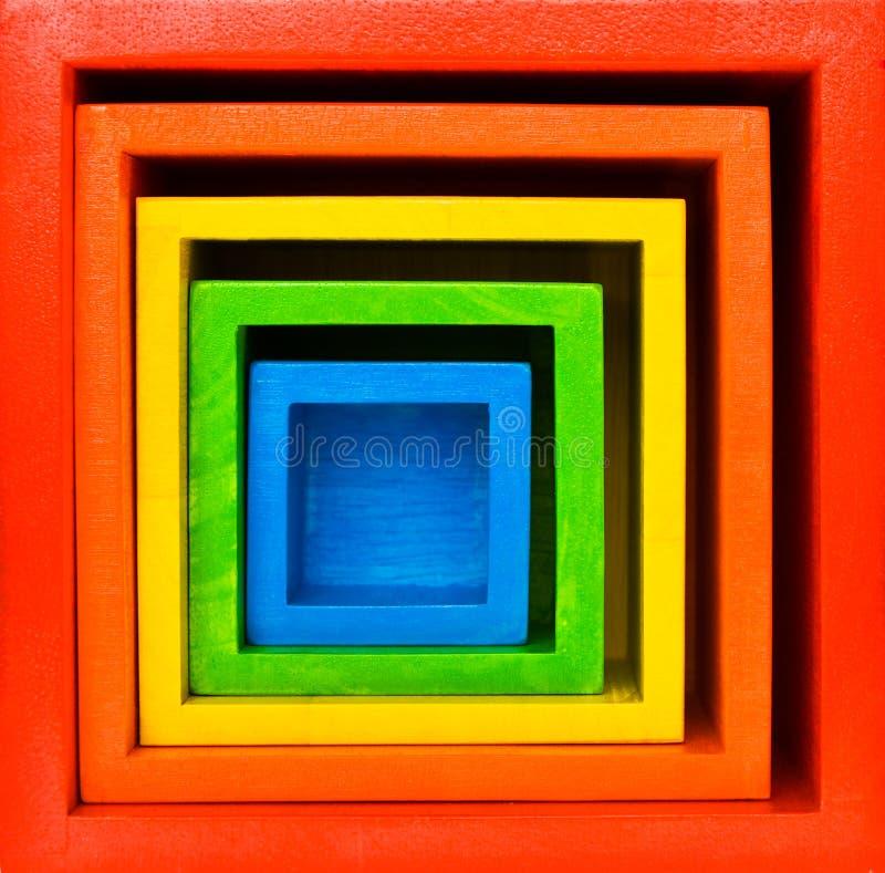 Alvo quadrado foto de stock