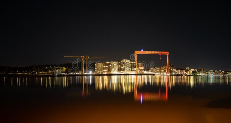 Alvsborg  Bridge stock images