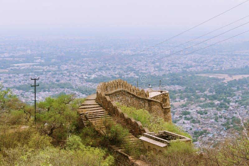 Alwar fort royalty free stock photo
