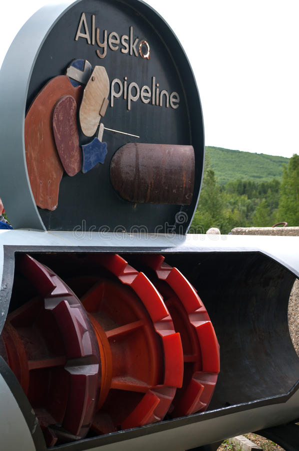 Alyeska Pipeline cleaner stock photos