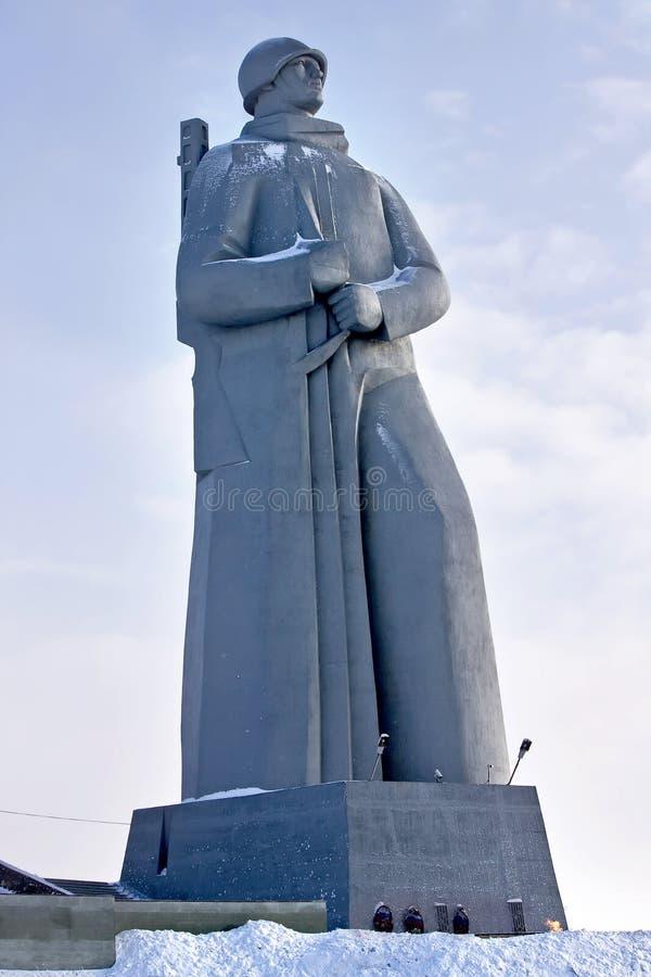 Alyosha. Denkmal zum Soldaten stockfoto